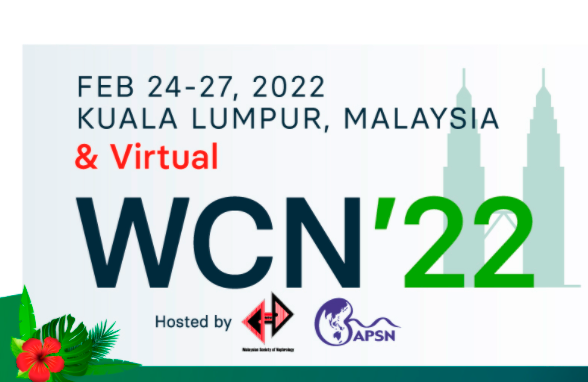 The World Congress of Nephrology (WCN) 2022